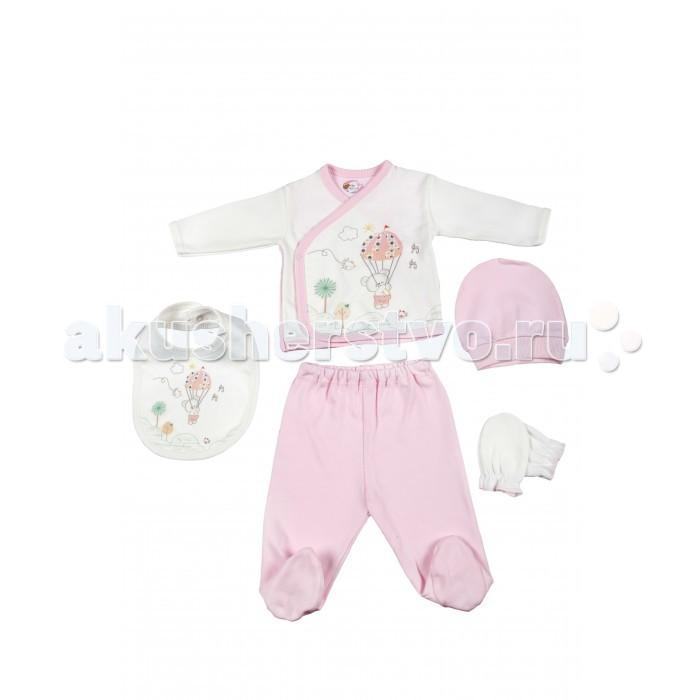 Комплекты детской одежды Bebitof Baby Подарочный набор для новорожденного (5 предметов) BBTF-790 наборы для кормления mii набор для новорожденного 7 предметов