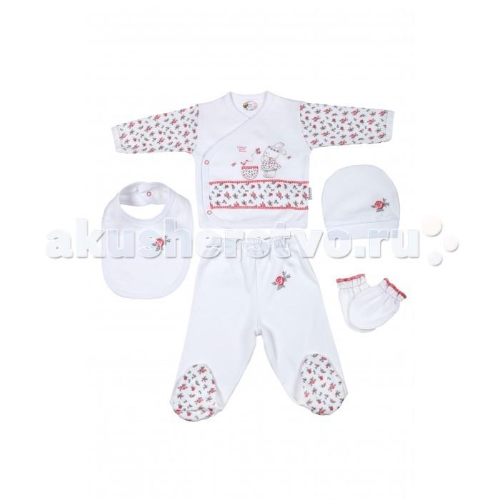Комплекты детской одежды Bebitof Baby Подарочный набор для новорожденного (5 предметов) BBTF-806 наборы для кормления mii набор для новорожденного 7 предметов