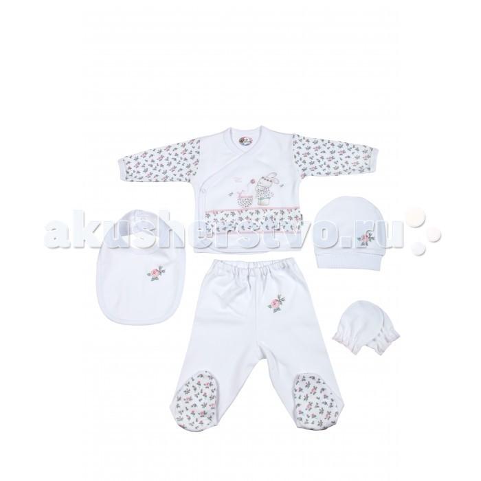 Комплекты детской одежды Bebitof Baby Подарочный набор для новорожденного (5 предметов) BBTF-806