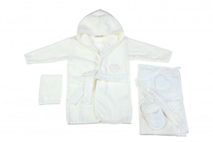Детская одежда , Халаты Bebitof Baby Подарочный набор (4 предмета) BBTF-3207 арт: 298603 -  Халаты