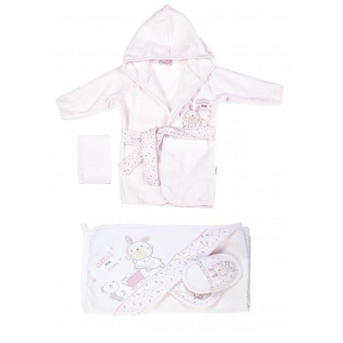 Детская одежда , Халаты Bebitof Baby Подарочный набор (4 предмета) BBTF-3210 арт: 298615 -  Халаты