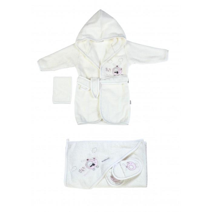 Детская одежда , Халаты Bebitof Baby Подарочный набор (4 предмета) BBTF-3213 арт: 298627 -  Халаты