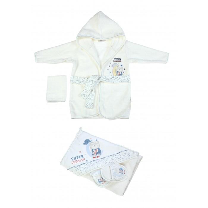 где купить Халаты Bebitof Baby Подарочный набор (4 предмета) BBTF-3221 по лучшей цене