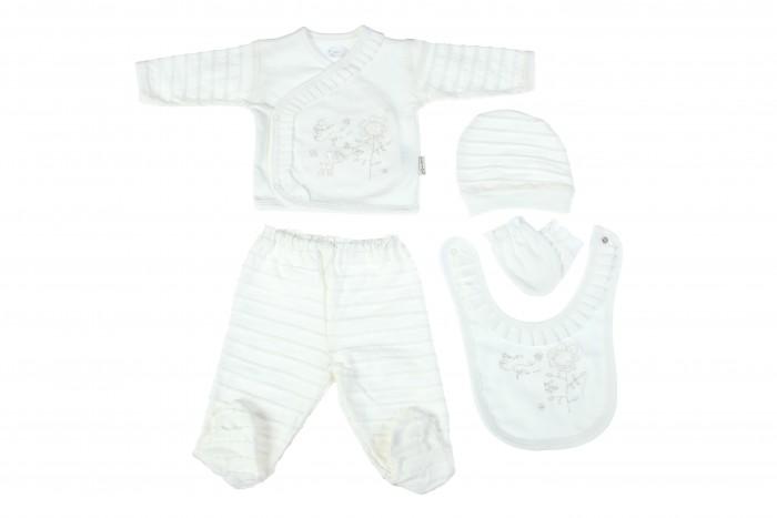 Фото Комплекты детской одежды Bebitof Baby Подарочный набор для новорожденного (5 предметов) BBTF-804