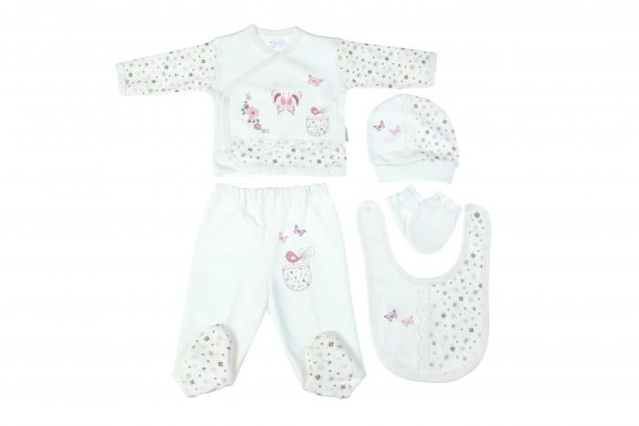 Комплекты детской одежды Bebitof Baby Подарочный набор для новорожденного (5 предметов) BBTF-820