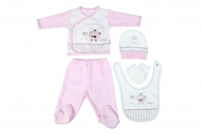 цена на Комплекты детской одежды Bebitof Baby Подарочный набор для новорожденного (5 предметов) BBTF-826