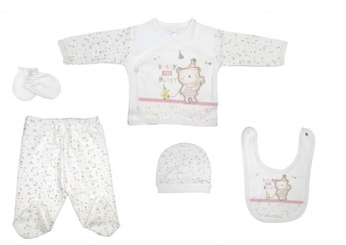 цена на Комплекты детской одежды Bebitof Baby Подарочный набор для новорожденного (5 предметов) BBTF-834