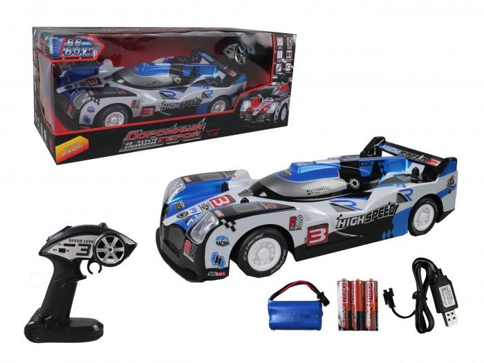 Фото - Радиоуправляемые игрушки BeBoy Машинка на р/у Гоночная радиоуправляемые игрушки 1 toy багги hot wheels машинка на р у