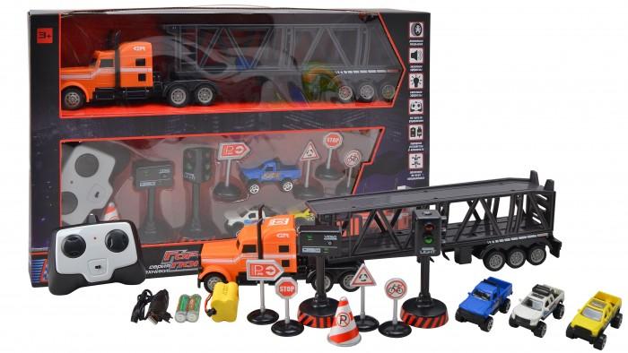 Радиоуправляемые игрушки BeBoy Тягач с прицепом IT106356