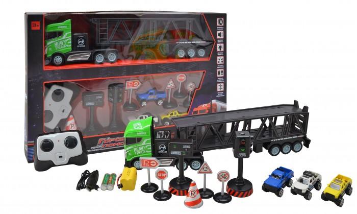 Радиоуправляемые игрушки BeBoy Тягач с прицепом
