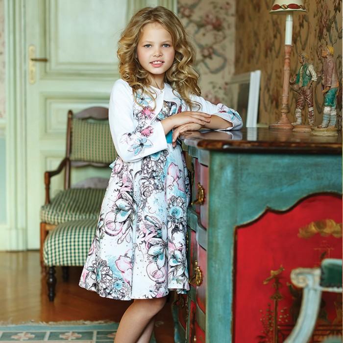 Bella Monella Платье для девочки с отстегивающимся подъюбником 204-0014