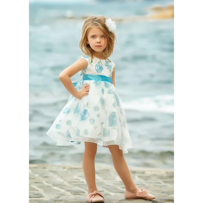 Bella Monella Платье из синтетических волокон на хлопковом подкладе 204-0003 фото