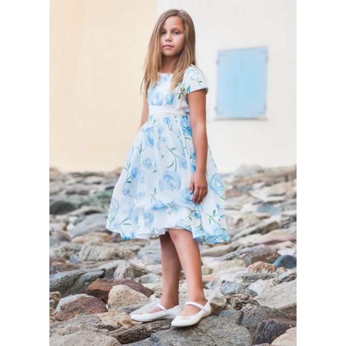 Bella Monella Платье из синтетических волокон на хлопковом подкладе 204-0004 фото