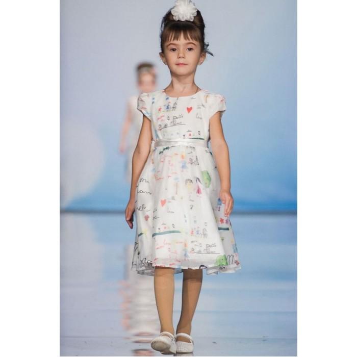 Bella Monella Платье из синтетических волокон на хлопковом подкладе 204-0007 фото