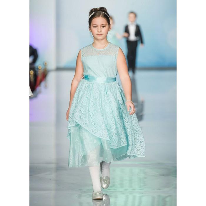 Bella Monella Платье из синтетических волокон на хлопковом подкладе 204-0009 фото