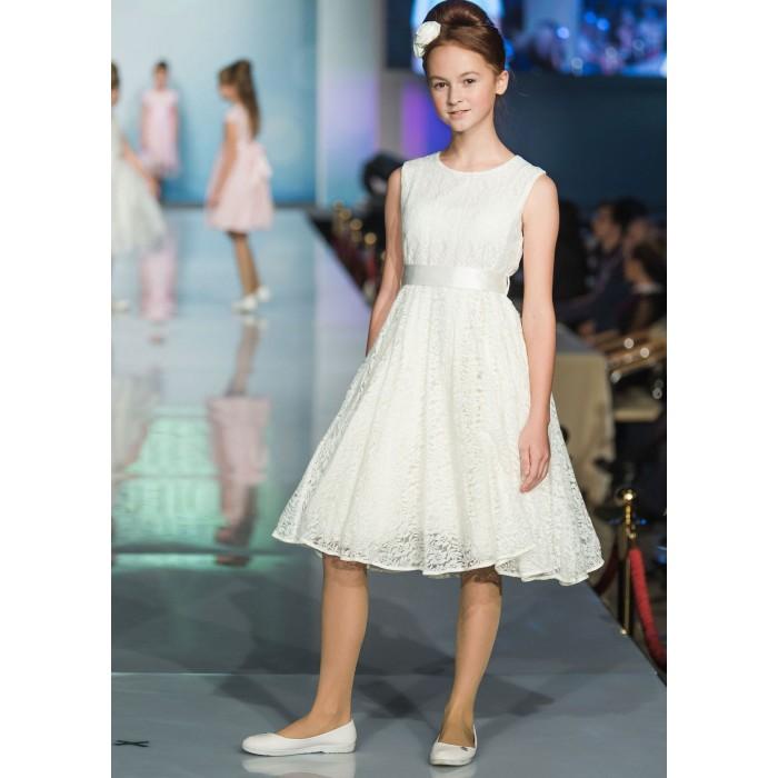 Bella Monella Платье из синтетических волокон на хлопковом подкладе 204-0012 фото