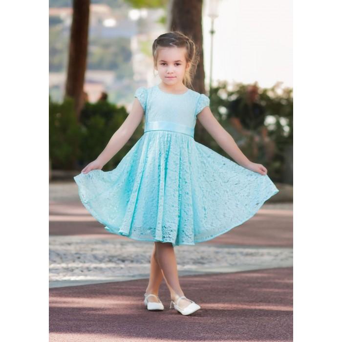 Bella Monella Платье из синтетических волокон на хлопковом подкладе 204-0013 фото
