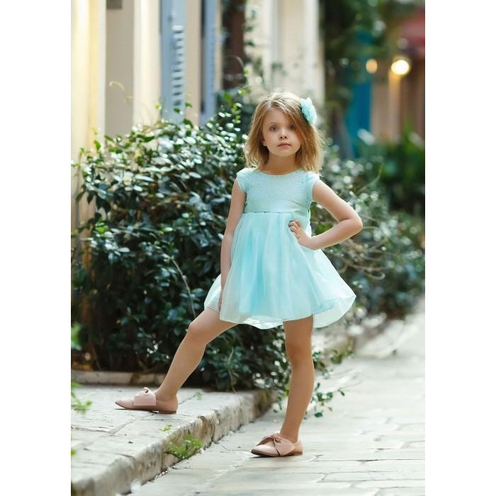 Bella Monella Платье из синтетических волокон на хлопковом подкладе 204-0018 фото