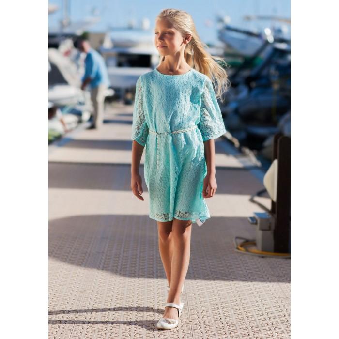 Bella Monella Платье из синтетических волокон на хлопковом подкладе 204-0019 фото