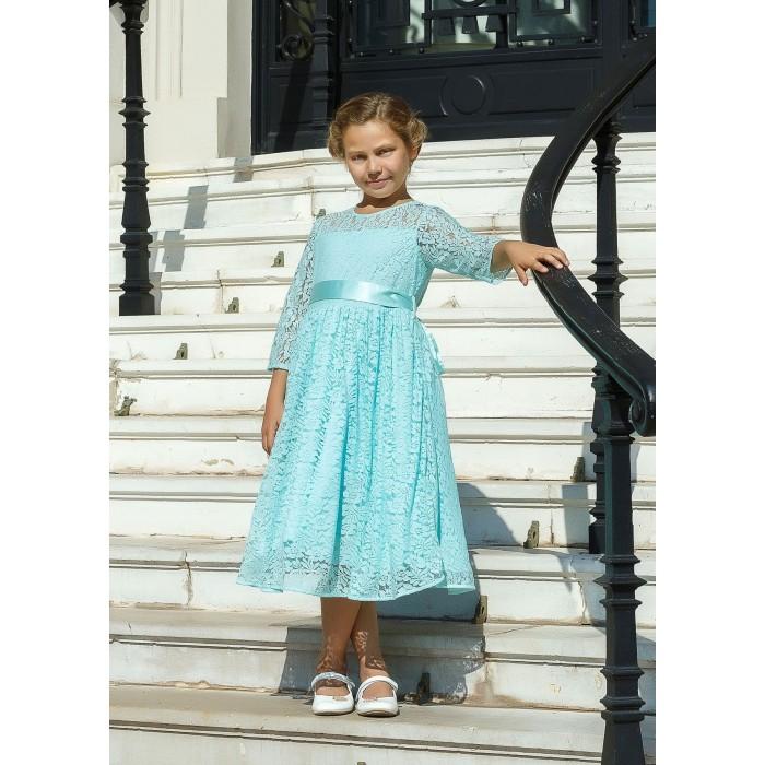 Bella Monella Платье из синтетических волокон на хлопковом подкладе 204-0020 фото