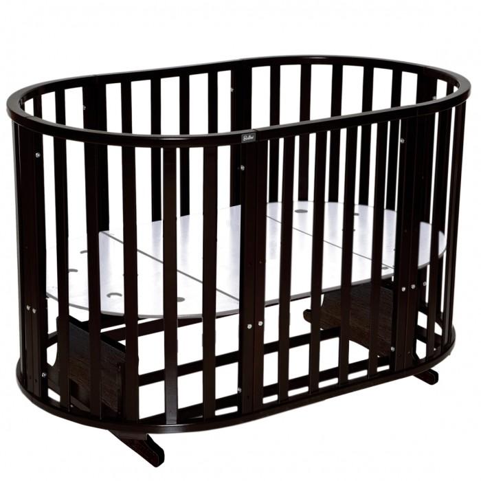 Детские кроватки Bellini Laura 6 в 1 универсальный маятник кроватка антел северянка 3 6 в 1 маятник поперечный колесо круглая 75 75 овал 125 75 белый