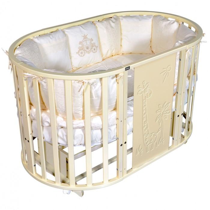 Кроватки-трансформеры Bellini Laura Giraffe 6 в 1 универсальный маятник аксессуары для мебели malika маятник поперечный для кроватки mio 6 в 1