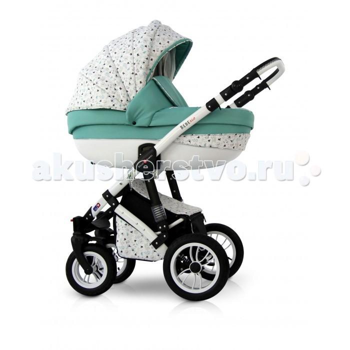 Коляска Bello Babies Bebe Eco 2 в 1Bebe Eco 2 в 1Коляска Bello Bebies Bebe Eco 2 в 1 для детей с рождения до 3-х лет - это современная модель для современных родителей и их малышей.  Bebe Eco 2 в 1 - это практичная наружная обшивка с уникальной системой пропитки Waterproof. Даже если вы на прогулке попадете под дождь, ваш малыш останется в полном комфорте, сухости и безопасности.  Коляска продумана до мелочей в плане безопасности и комфортабельности: литая люлька защищает кроху от ударов, а хлопковая обшивка внутри и перфорированное дно создают особый микроклимат внутри люльки и обеспечивают доступ свежего воздуха.  алюминиевая рама пружинная амортизация с возможностью регулирования жесткости регулируемая по высоте ручка, обтянутая эко-кожей, установка люльки и прогулочного блока в любом направлении движения накидка на ножки для люльки с большим отворотом окошко для проветривания со встроенной москитной сеткой 4 положения наклона спинки прогулочного блока регулировка наклона спинки люльки регулируемая подножка быстросъемные пневмоколеса, передние колеса поворотные с возможностью фиксации, съемный ограничительный поручень. система ремней безопасности ручка для переноски люльки большая корзина для покупок компактное складывание возможность установки автомобильного кресла В комплекте: шасси люлька прогулочный блок накидка на ножки для люльки накидка на ножки для прогулочного блока кокосовый матрасик в люльку сумка для мамы с пластиковой нижней частью тканевая багажная корзина на замке занавес на люльке муфты дождевик противомоскитная сетка подстаканник    Вес и размеры коляски: В разложенном виде (Д x Ш x В) 1010 х 590 х 1140 мм В сложенном виде (рама с колесами)  (Д x Ш x В) 800 х 590 х 330 мм Диаметр передних колес: 25 см Диаметр задних колес: 30 см Вес рамы: 10.1 кг Вес люльки: 6.2 кг Вес прогулочного блока: 5.8 кг Вес коляски с люлькой: 15.3 кг Вес коляски с прогулочным блоком: 15.9 кг<br>