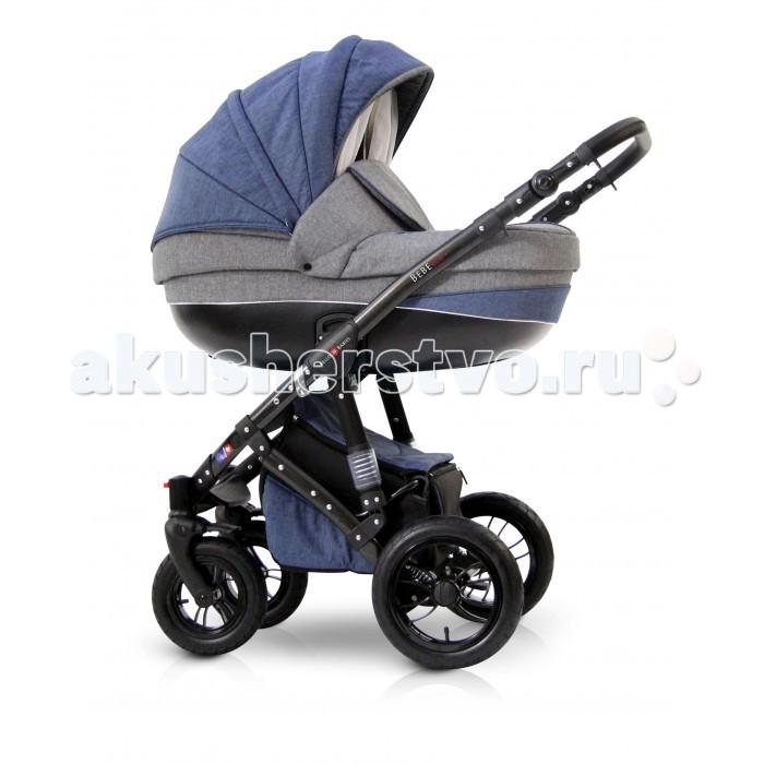 Коляска Bello Babies Bebe Eco 3 в 1Bebe Eco 3 в 1Коляска Bello Bebies Bebe Eco 3 в 1 для детей с рождения до 3-х лет - это современная модель для современных родителей и их малышей.  Bebe Eco 3 в 1 - это практичная наружная обшивка с уникальной системой пропитки Waterproof. Даже если вы на прогулке попадете под дождь, ваш малыш останется в полном комфорте, сухости и безопасности.  Коляска продумана до мелочей в плане безопасности и комфортабельности: литая люлька защищает кроху от ударов, а хлопковая обшивка внутри и перфорированное дно создают особый микроклимат внутри люльки и обеспечивают доступ свежего воздуха.  алюминиевая рама пружинная амортизация с возможностью регулирования жесткости регулируемая по высоте ручка, обтянутая эко-кожей, установка люльки и прогулочного блока в любом направлении движения накидка на ножки для люльки с большим отворотом окошко для проветривания со встроенной москитной сеткой 4 положения наклона спинки прогулочного блока регулировка наклона спинки люльки регулируемая подножка быстросъемные пневмоколеса, передние колеса поворотные с возможностью фиксации, съемный ограничительный поручень. система ремней безопасности ручка для переноски люльки большая корзина для покупок компактное складывание возможность установки автомобильного кресла В комплекте: шасси люлька прогулочный блок автокресло 0+ накидка на ножки для люльки накидка на ножки для прогулочного блока кокосовый матрасик в люльку сумка для мамы с пластиковой нижней частью тканевая багажная корзина на замке занавес на люльке муфты дождевик противомоскитная сетка подстаканник    Вес и размеры коляски: В разложенном виде (Д x Ш x В) 1010 х 590 х 1140 мм В сложенном виде (рама с колесами)  (Д x Ш x В) 800 х 590 х 330 мм Диаметр передних колес: 25 см Диаметр задних колес: 30 см Вес рамы: 10.1 кг Вес люльки: 6.2 кг Вес прогулочного блока: 5.8 кг Вес автомобильного кресла: 3.0 кг Вес коляски с люлькой: 15.3 кг Вес коляски с прогулочным блоком: 15.9 кг<br>