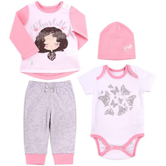 Купить Комплекты детской одежды, Bembi Комплект для девочки 4 предмета КП205