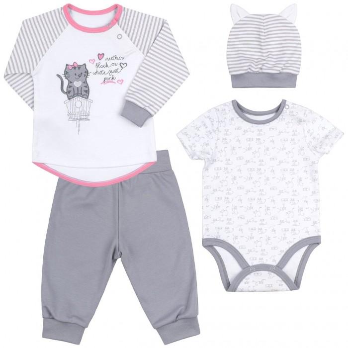 Купить Комплекты детской одежды, Bembi Комплект для девочки (4 предмета) КП193