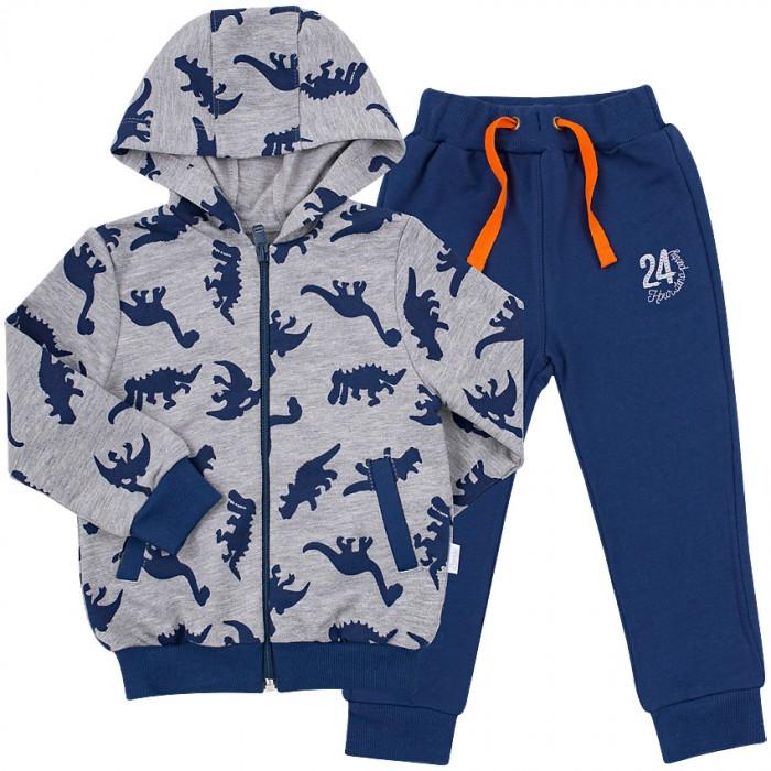Комплекты детской одежды Bembi Костюм трикотажный для мальчика КС579 куртка для мальчика с мехом зеленая in extenso