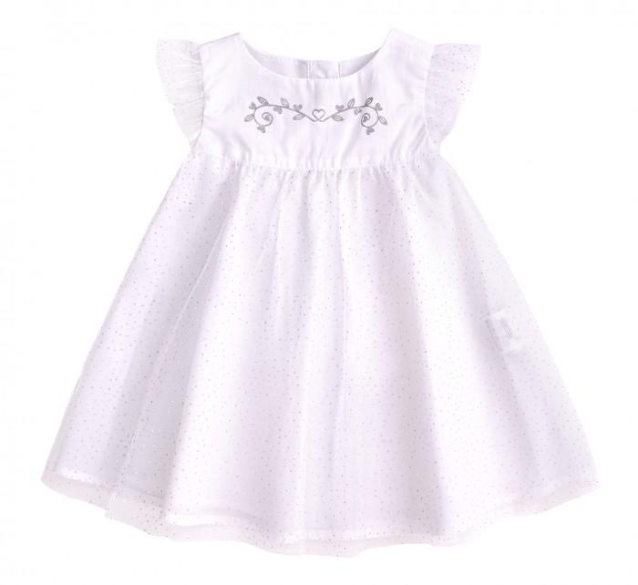 Bembi Платье крестильное для девочки ПЛ254