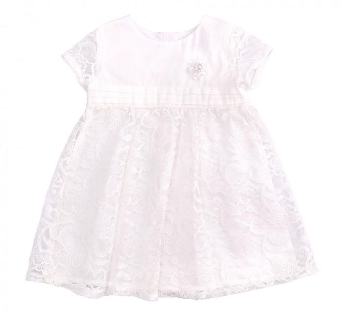 Bembi Платье крестильное для девочки ПЛ255