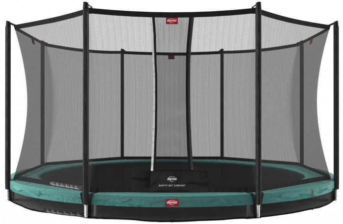 Детские батуты Berg Батут InGround Favorit 430 с сеткой Safety Net Comfort