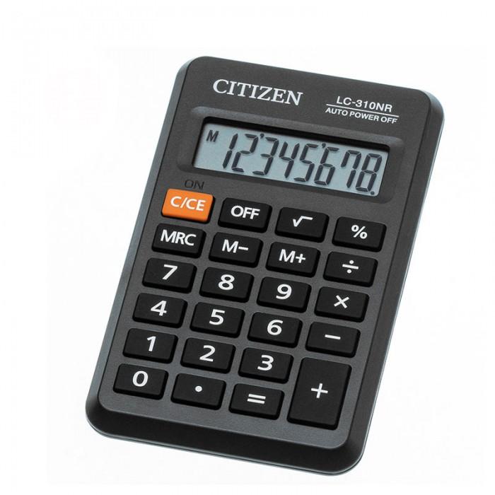 Канцелярия Citizen Калькулятор карманный LC-310NR 8 разрядов