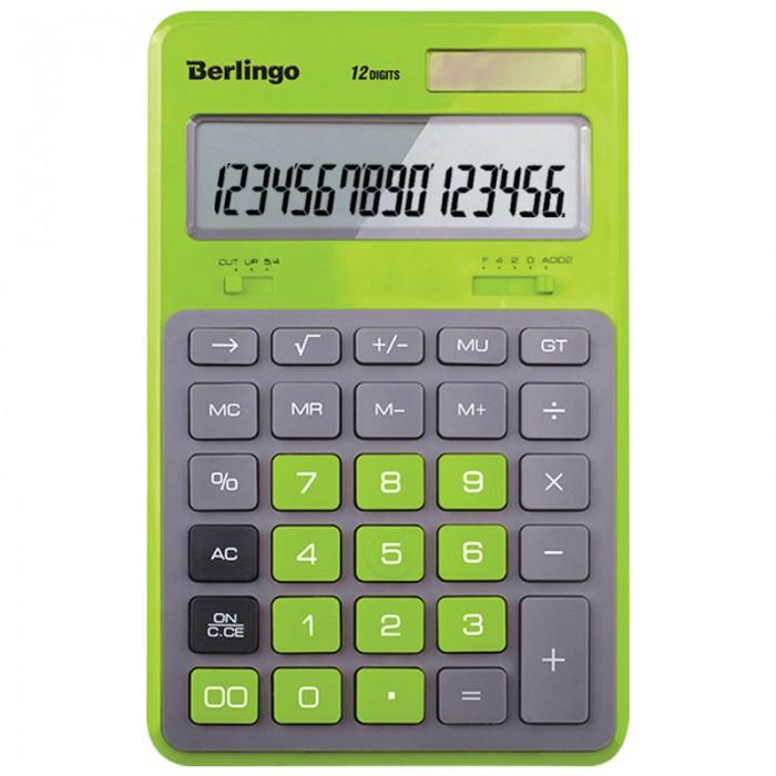 Berlingo Калькулятор настольный Hyper 12 разрядов