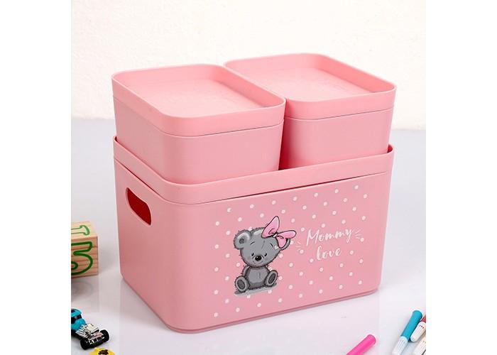 Ящики для игрушек Беросси Набор органайзеров Mommy love