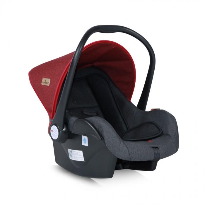 Автокресло Bertoni (Lorelli) LifesaverГруппа 0-0+ (от 0 до 13 кг)<br>Автокресло Bertoni (Lorelli) Lifesaver удобное и комфортабельное автокресло для малышей с момента рождения и до 1,5 года, весом до 13 кг.  Автокресло устанавливается в автомобиле против хода движения машины при весе ребенка до 13 кг (примерный возраст - до полутора лет, группа 0+).  Можно устанавливать на переднем сидении, если подушки безопасности нет или она отключена.   Особенности: Автокресло крепится в автомобиле с помощью 5-и точечного ремня безопасности в направлении против движения Наличие солнцезащитного капюшона Пятиточечные ремни безопасности Эргономическая совершенная форма, надежно защищающая малыша Регулируемая спинка с возможностью фиксации положения Не линяющая, мягкая, съемная оббивка (стирать при t 30) Анатомический вкладыш для поддержки спинки ребёнка Высокие края для большей безопасности Накидка на ножки Кресло соответствует стандарту безопасности ЕСЕ R44/04