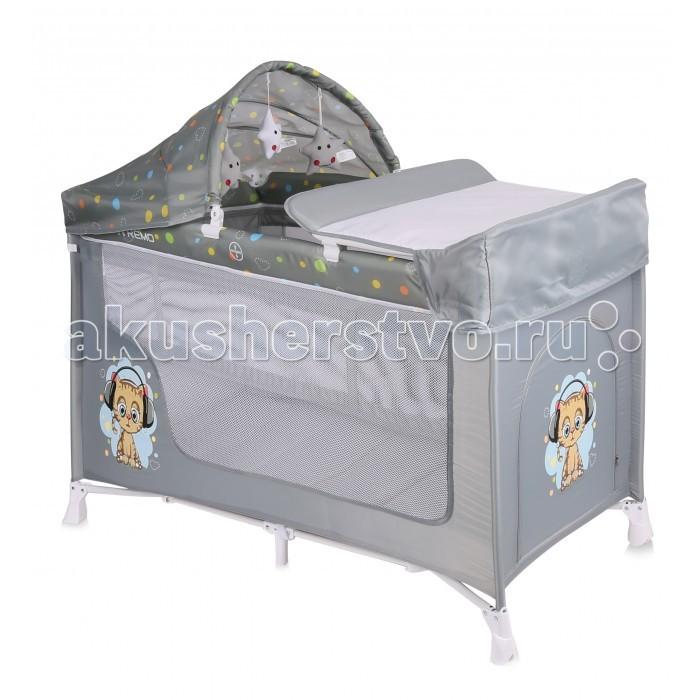 Детская мебель , Манежи Bertoni (Lorelli) San Remo 2 Plus арт: 494631 -  Манежи