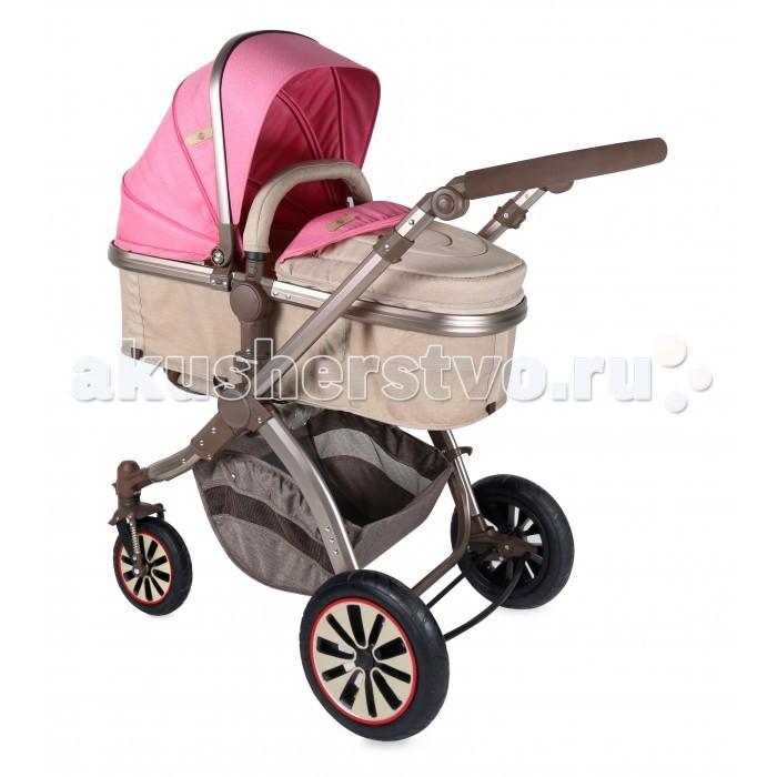 Детские коляски , Коляски-трансформеры Bertoni (Lorelli) Aurora с надувными колесами арт: 248893 -  Коляски-трансформеры