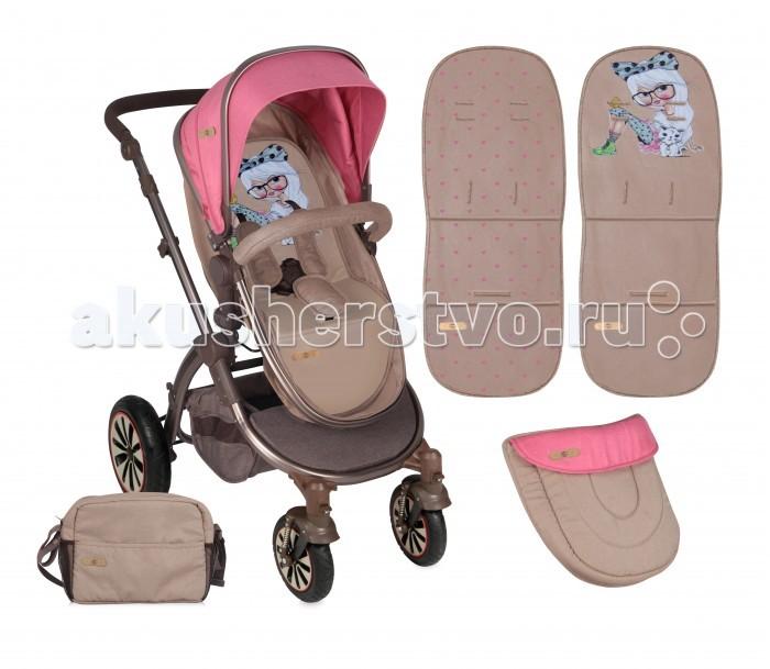 Детские коляски , Коляски-трансформеры Bertoni (Lorelli) Aurora с накидкой на ножки арт: 248911 -  Коляски-трансформеры