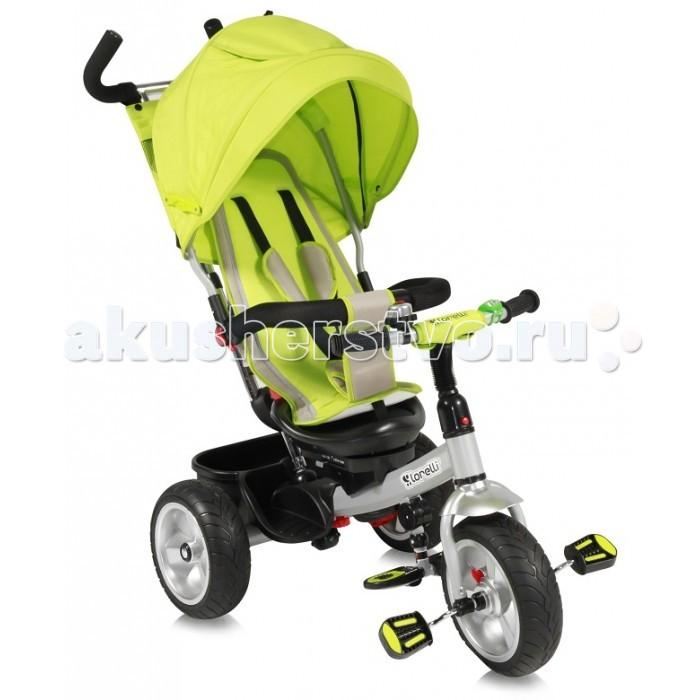 Велосипед трехколесный Bertoni (Lorelli) B50B50Первый велосипед навсегда останется в памяти вашего ребенка. Поэтому к его выбору необходимо подойти очень ответственно.  Модель B50 Lorelli/Бертони это хорошо сбалансированный и безопасный трехколесный велосипед, который подходит детям в возрасте от 18 месяцев до 3-4 лет и весом не более 20 кг.  Детский велосипед B50 оснащен ручкой для родительского контроля, громким звонком, корзиной для покупок и удобным сидением.  Детский трехколесный велосипед B50 отличается оригинальным дизайном и эргономичной формой.  Поездка на таком велосипеде стимулирует развитие опорно-двигательной системы и координации ребенка.  После того, как ребенок научится самостоятельно управлять велосипедом, родительскую ручку можно снять.<br>