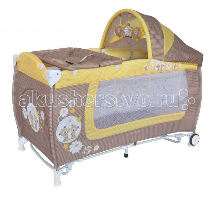 Детская мебель , Манежи Bertoni (Lorelli) Danny 2 Rocker арт: 332735 -  Манежи