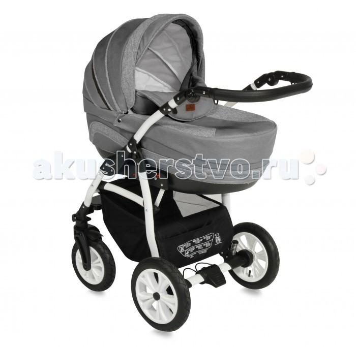 Коляска Bertoni (Lorelli) Kara 2 в 1Kara 2 в 1Коляска Bertoni (Lorelli) Kara 2 в 1 в современном дизайне, удобство в эксплуатации, многофункциональность по достоинству оценят молодые родители.  Особенности: люлька для новорожденного прогулочное сиденье с чехлом на ножки регулируемая родительская ручка съемный матрасик для новорожденных амортизация колёс дно люльки регулируется и имеет вентиляционные отверстия на крыше вентиляционное окошко и карман на молнии вместительная корзина-багажник с карманом подножка, крыша и спинка сиденья регулируются рама коляски легко и компактно складывается В комплекте: сумка для мамы с пеленальным матрасиком дождевик москитная сетка Размеры и функции: Длина 105 см Ширина 60 см Высота 126 см Наклон спинки Внутренние ремни Регулировка высоты подножки  Механизм складывания: книжка Фиксация передних колес Тормоз: ножной Материал: металл/пластик/текстиль Вес: 15.4 кг<br>