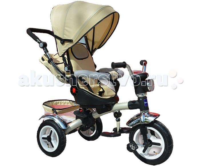 Велосипед трехколесный Glamvers Lion фара, надувные колеса