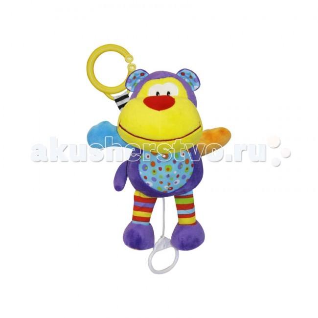 Подвесные игрушки Bertoni (Lorelli) мягкая музыкальная подвесные игрушки bertoni lorelli бегемот