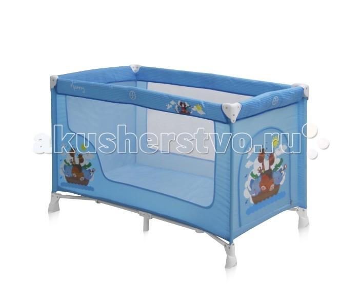 Манеж Bertoni (Lorelli) Nanny 1Nanny 1Манеж Bertoni (Lorelli) Nanny 1  Детский манеж-кроватка от болгарского бренда Bertoni Nanny 1 – это гарантированный комфорт вашего малыша!   Продукция компании сертифицирована и отвечает самым высоким стандартам качества и безопасности эксплуатации, одобрена нормами ЕС. Манеж-кроватка уместен не только в доме, но и на улице.  Особенности: Продукция изготовлена из высококачественных, экологичных материалов с антибактериальным покрытием Дно в Bertoni Nanny 1 имеет 1 уровень Дно жесткое, что гарантирует правильную поддержку спинки ребенка во время сна Bertoni Nanny 1 имеет центральную ножку, которая гарантирует не только дополнительную устойчивость, но и не дает прогибаться дну В сложенном виде конструкция занимает мало места, легко переносится в сумки, которая идет в комплекте. Процесс складывания предельно прост Боковины прозрачные, так что вы всегда будете знать, чем занят ваш малыш Для деток, которые немножко подросли, можно открыть автовыход на торцевой панели  Внешние размеры: Ширина 64 см Высота 72 см Длина 124 см<br>