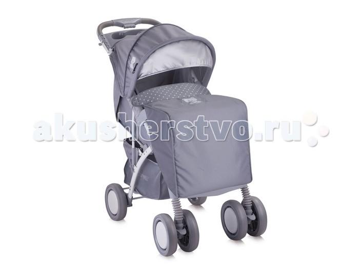 Прогулочная коляска Bertoni (Lorelli) Rio + накидка на ножкиRio + накидка на ножкиПрогулочная коляска Bertoni Rio предназначена для требовательных родителей, поскольку способна полностью удовлетворить все требования качества и безопасности. Помимо этого, она также обладает эстетичным привлекательным внешним видом и высокой функциональностью, что является причиной выбора.  Её вес составляет всего 8 кг, а ширина шасси – 48 см. Размер сиденья вполне просторны: 75х33 см, благодаря чему ребенок будет комфортно себя ощущать даже в зимней одежде.  Особенности: подходит для детей от 6 мес до 3 лет регулируемый тент-капюшон капюшон с окошком для мамы многопозиционная спинка регулируемая подножка защитный бампер перед ребенком ремни безопасности удобная ручка эргономичной формы подставка для аксессуаров на ручке поворотные передние колеса колёсная база шириной 48 см большая корзина для покупок амортизаторы на задних колесах возможна установка автокресла (дополнительная опция) легкая система сложения  Размер коляски (ШхВхД): 48х104х70 см. Вес: 8 кг.<br>
