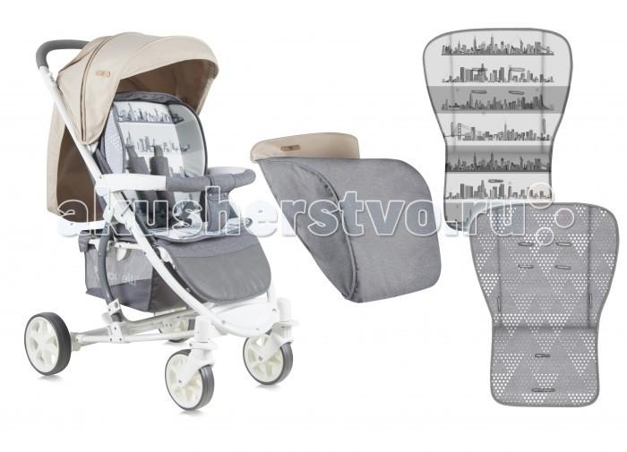 Прогулочная коляска Bertoni (Lorelli) S-300 + накидка на ножкиS-300 + накидка на ножкиПрогулочная коляска Bertoni (Lorelli) S-300 + накидка на ножки - отличная детская прогулочная коляска, сочетающая в себе: большое спальное место для ребенка; спинку, откладывающуюся горизонтально; большие колеса и удобство в использовании!!!   Модель для практичных родителей. В дизайне присутствуют нотки, отсылающие к морской тематике, что подарит атмосферу лета при любой погоде. Удобный капюшон по типу батискафа опускается низко, а возможность разложить сидение предполагает опускание до лежачего положения.   Особенности: поворотные передние колеса с возможностью фиксации мягкая система амортизации и тормоза на задние колеса большой капюшон с дополнительным козырьком откладывается полностью до бампера. Капюшон трехсекционный, на молнии на капюшоне есть окошко для мамы внутри коляска оснащена мягким двухсторонним вкладышем для малыша коляска имеет 3 положения наклона спинки вплоть до лежачего подножка также регулируется передняя ручка-бампер съемная, предоставляет полный доступ к ребенку коляска оснащена 5-ти точечными ремнями безопасности с мягкими накладками наличие хлястика между ножек позволяет не всегда пристегивать ребенка ремнями безопасности при нажатии кнопок снимаются передние и задние колеса.   Размеры: Размеры в сложенном состоянии: 35x90х61 см. Размер в разложенном виде: 90х61х103 см. Размер спального места: 80х32 см.<br>