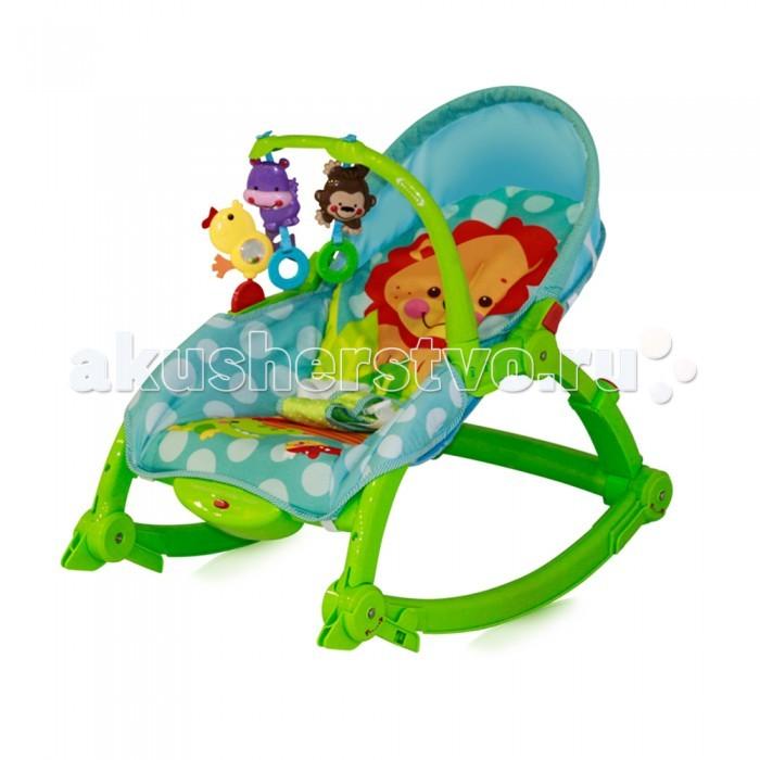 Кресла-качалки, шезлонги Bertoni (Lorelli) Шезлонг-качалка 3 в 1 Chill Out игровые коврики bertoni lorelli с интерактивным столиком